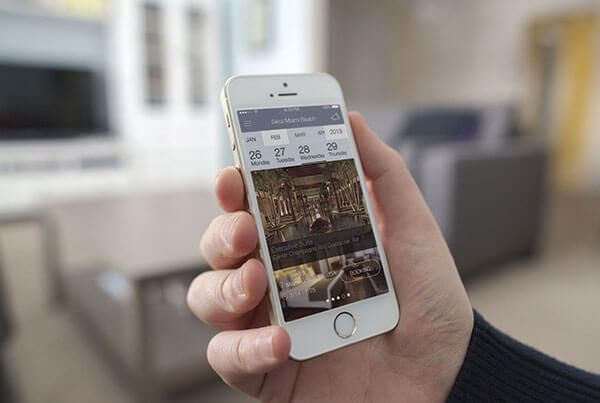 Setai Hotel previous work - SetaiHotel MobileApp - Previous Work